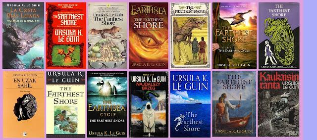 Reseña de la novela de fantasía juvenil de Terramar La costa más lejana, de Ursula K. Le Guin