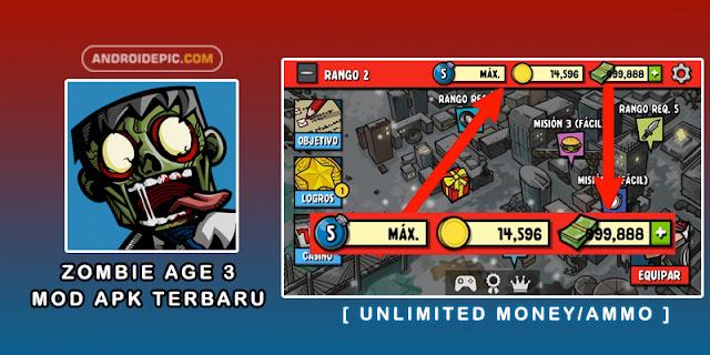 Zombie Age 3 Premium Mod Apk Terbaru [ Unlimited Money/Ammo ] - androidepic.com