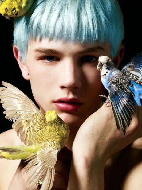 hombre cabello color 2017
