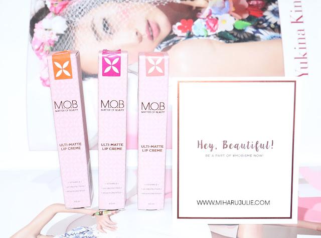 M.O.B Cosmetic Ulti-Matte Lip Creme