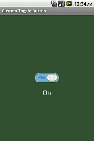 iDroid Software Inc : Android Custom Toggle Button Example