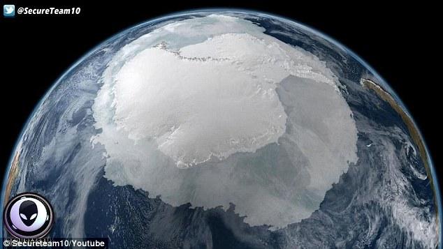 هل توجد فعلا أجسام غامضة نازية في القطب الجنوبي
