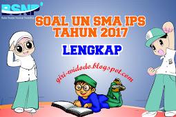 Download Soal UN SMA 2017 Jurusan IPS All Mapel