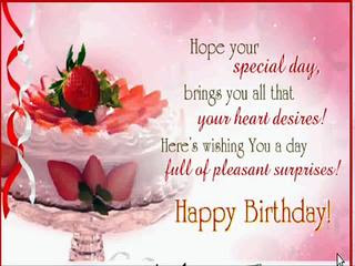 Happy Birthday wishes for sister in law: hope your special day bring you all that your heart desires!