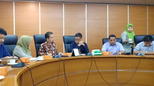 DPRD Padang Kunjungi Kementrian Pertanian Terkait Penas Tani 2020