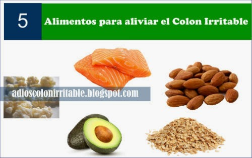 alimentos y dieta para el colon irritable