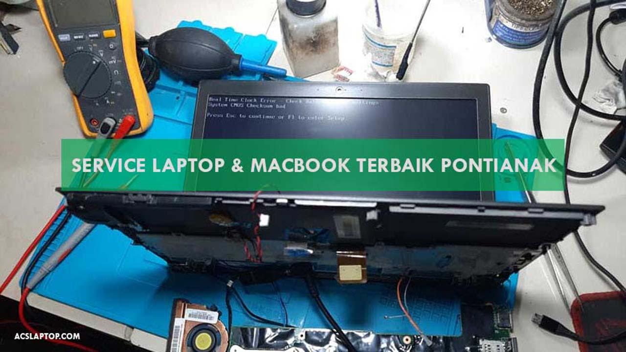 Service Laptop dan MacBook Terbaik di Pontianak