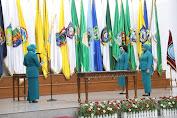 Ketum TP PKK Ny Tri Tito Karnavian Lantik Ny Rita Dondokambey-Tamuntuan Sebagai Ketua TP PKK Sulut
