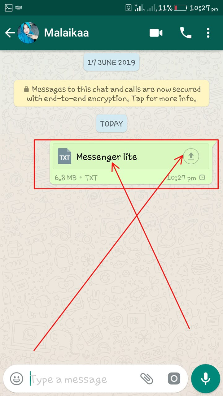 How To Share/Send Games And Apps Apk Trough WhatsApp   Full