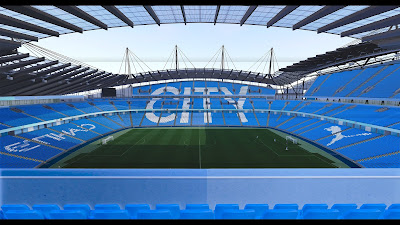 PES 2020 Stadium City of Manchester / Etihad Stadium Premier League Edition