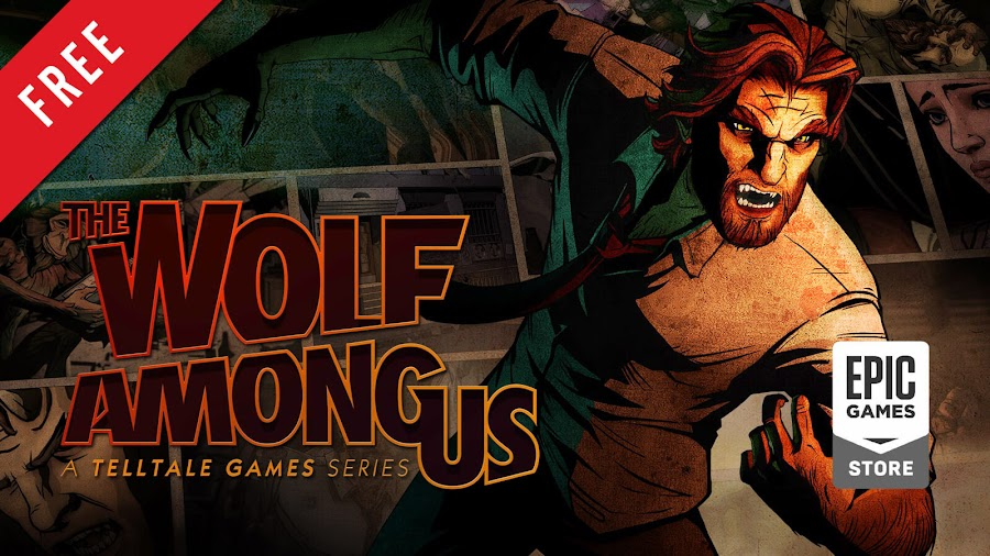 the wolf among us free pc game bigby wolf epic games store episodic interactive dark fantasy mystery graphic adventure lcg entertainment inc telltale games athlon games