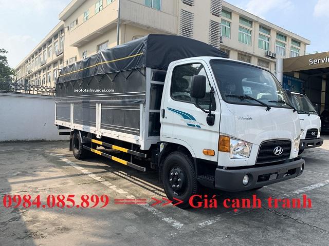 Hyundai 110XL thùng bạt dài 6m3