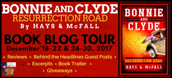 Bonnie and Clyde: Resurrection Road blog tour banner