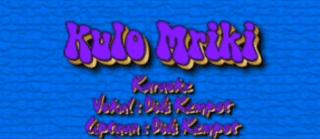 Lirik Lagu Kulo Mriki - Didi Kempot
