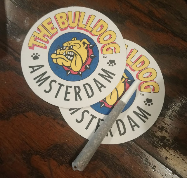 We Went To Amsterdam For Six Hours And Here's What We Did : Bulldog The First coffeehouse, beermats and joint