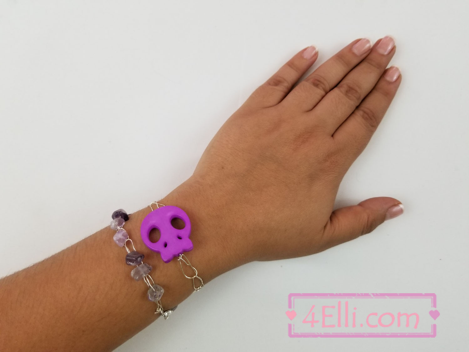 4Elli.com : Crochet wire bracelets with beads