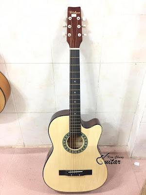 Bán đàn guitar acoustic diduo màu gỗ giá 7 trăm nghìn