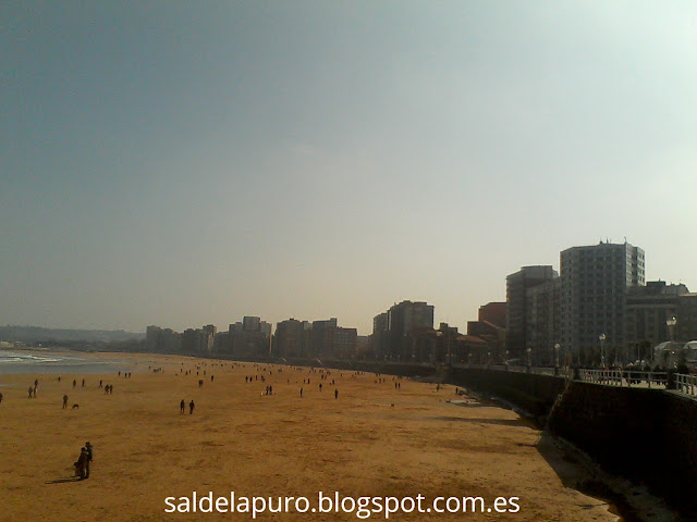 i´m currently loving playa gijón