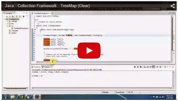 how to clear hashmap in java