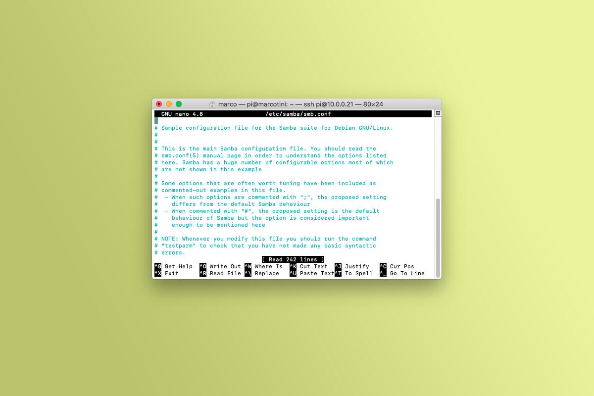 Come installare Samba su Raspberry Pi