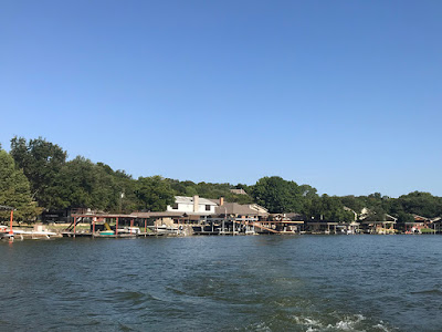 Homes Lining the Lake Granbury Shore