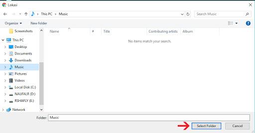Lokasi folder download Google Chrome