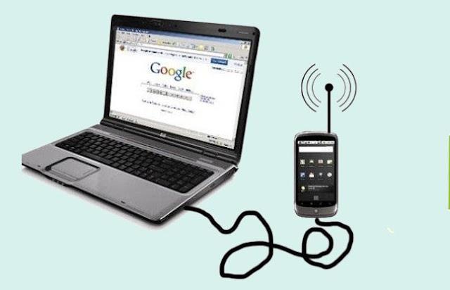 मोबाइल इन्टरनेट को pc या लैपटॉप से कैसे connect करें