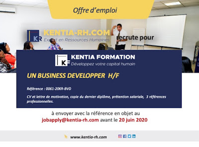 UN BUSINESS DEVELOPPE JUNIOR H/F