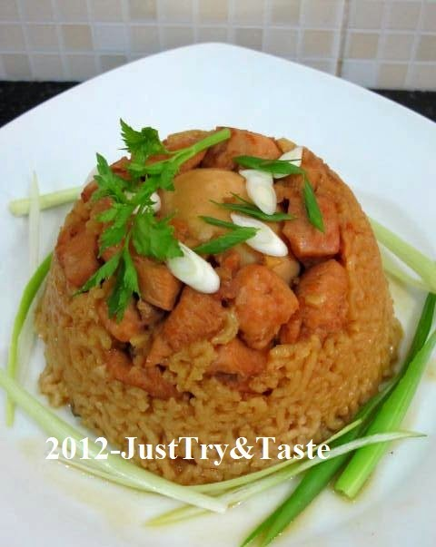 Nasi Tim Ayam Seriously Delicious Just Try Taste