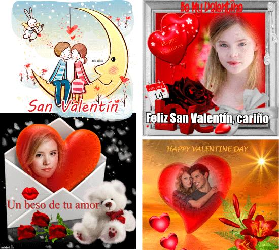 Felicitación de San Valentín virtual