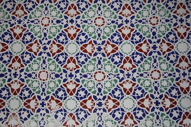 Ouzbékistan, Kokand, Palais de Khodayar Khan, place Mukimi, frise, © L. Gigout, 2012