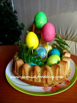 how to serve easter dyed eggs