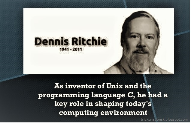 a biography of dennis ritchie