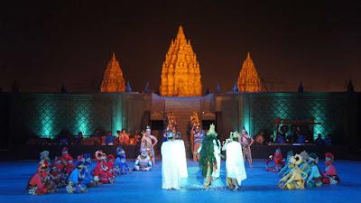 Ramayana show outdoor