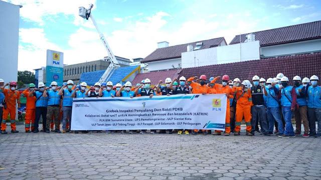 PLN UIW Sumut, UP3 Pematangsiantar Laksanakan Bakti PDKB