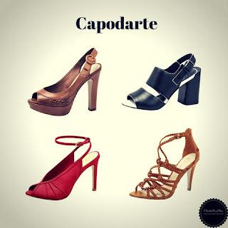 Sapatos e Sandálias da Capodarte - Marcas de Sapatos Femininos