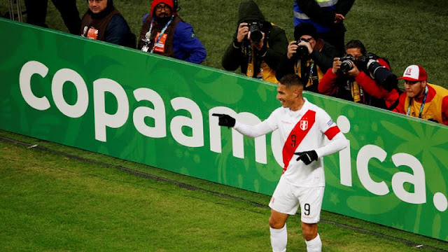 Chile vs Peru  Semi Final-3rd goal