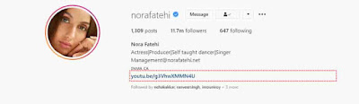 Nora Fatehi Instagram