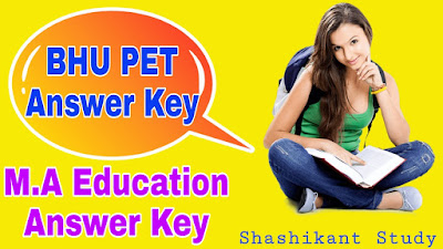 BHU-PET-M.A-Education-Answer-Key