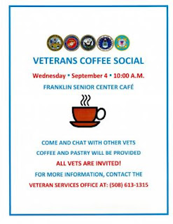 Veterans Coffee Social - Sep 4