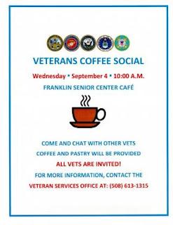 Veterans Coffee Social - Sep 4