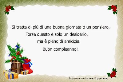 message  anniversaire en italien