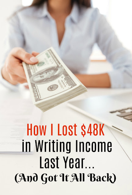 I almost gave up writing after my worst earnings year ever. See how I bounced back and which tips I learned that can be used by anyone wanting to double their freelance writing income next year.