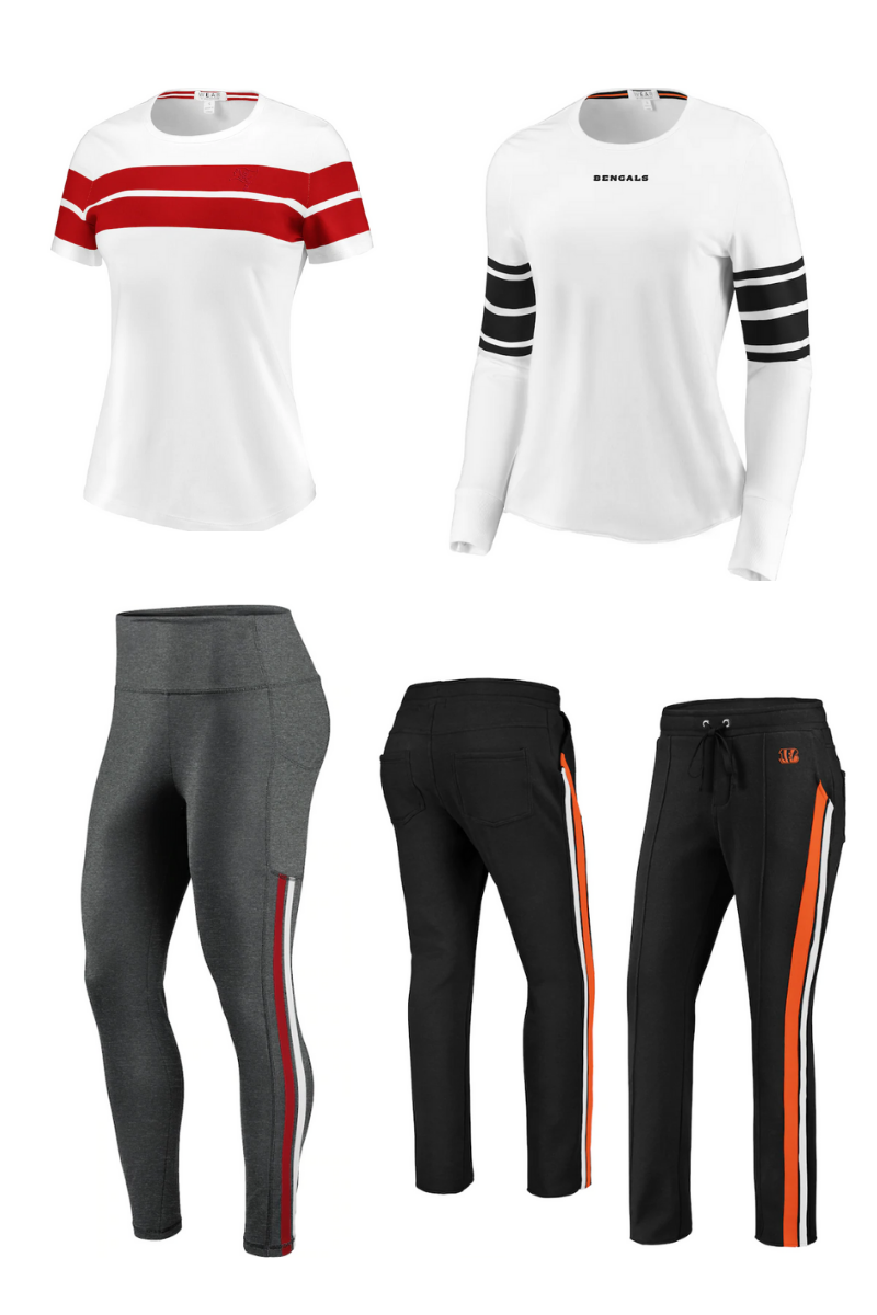 NFL women's clothing team gear