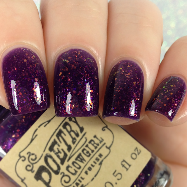 Poetry Cowgirl Nail Polish-Flowers for the Dead