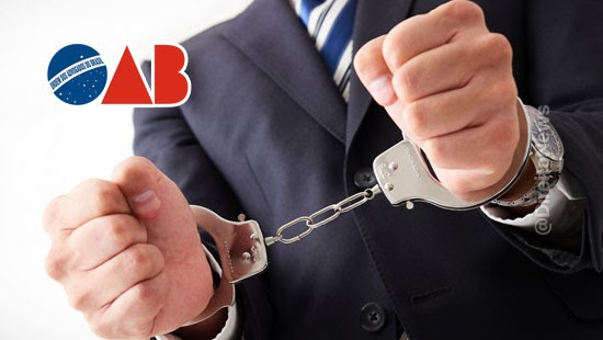 oab nota repudio advogado detido presidio