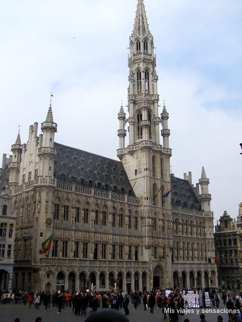 Ayuntamiento de Bruselas, Grand Place, Bélgica