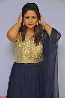 Shilpa Chakravarthy anchor and actress in anarkali dress  Exclusive 013.JPG