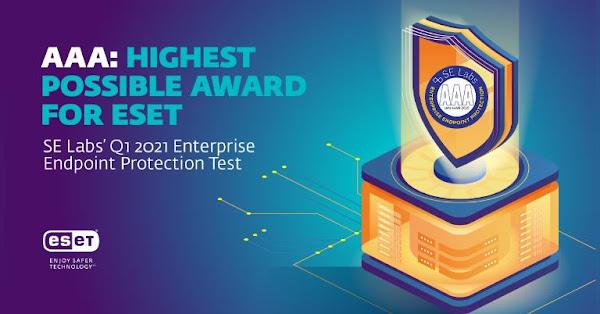ESET Endpoint Security conquista novo cobiçado prémio pela sua eficácia