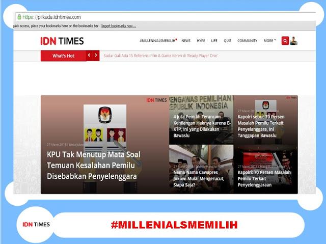 Portal Nomor 1 Khusus Generasi Millenials dan Gen.Z